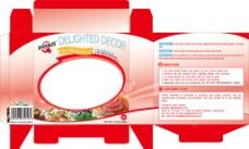 蛋糕盒(红色)图片