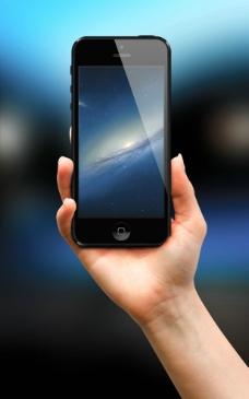拿手机图片