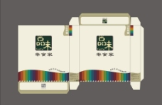 七色果糖包装源文件图片