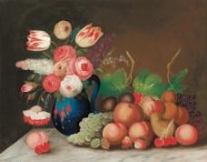 永恒之美 鲜花与水果图片