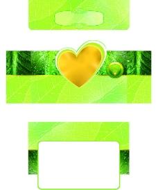绿色套盒图片