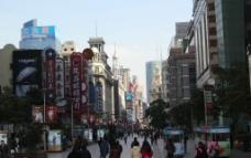 上海南京路步行街图片