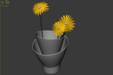 鮮花模型圖片