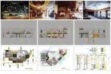 酒店施工图图片