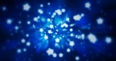 蓝色炫彩图片