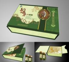 保健品包装盒平面图图片