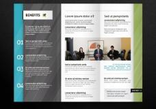 企业三折页内页图片