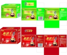 血清王茶包装图片