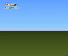 森林大树PPT动画背景模板