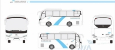 杭州萧山国际机场vi手册 机场巴士2中巴图片