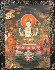 尼泊尔唐卡图片