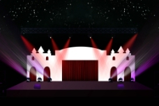 舞台造型图片