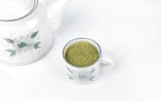 绿茶粉图片