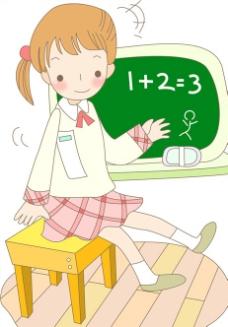 儿童插图图片