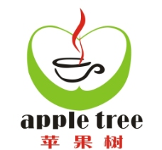 苹果树标志图片