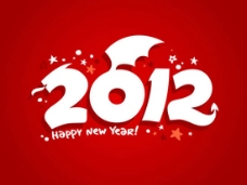 创意2012字体数字