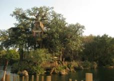 泰山 小木屋图片