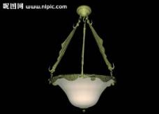 燈具模型圖片