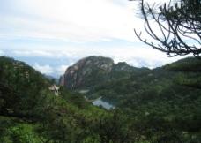 黄山俯瞰图片