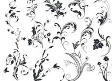 欧式复古花纹图片