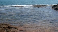 蓝色的海水图片