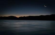 泸沽湖早晨图片