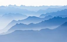 云海迷雾图片