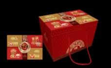 年货礼盒 (平面图)图片