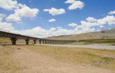西藏大桥图片