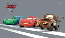 迪士尼赛车图片