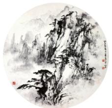 丹壑苍虬图片