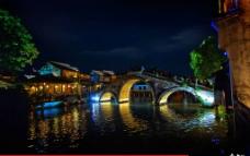 乌镇夜景图片
