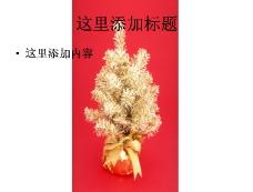 彩色圣诞树图片