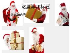 5张圣诞老人与礼物高清图片