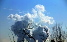 空气污染图片