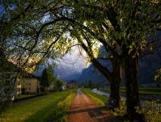 阿尔卑斯山美景高清(11_11)