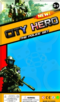 城市英雄图片