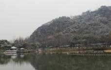 山水风景 湖面图片