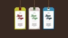 吊牌广告设计素材图片