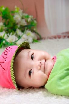 微笑宝宝图片