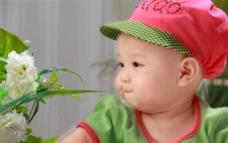 闻花的宝宝图片