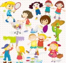 可爱 儿童图片