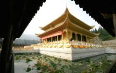 大金佛寺金殿图片