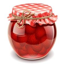 草莓罐头包装设计