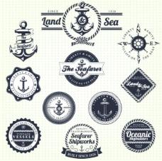经典欧式徽章素材