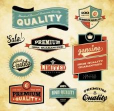 标贴矢量设计元素