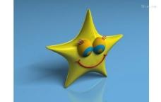 3D卡通星星模型