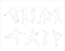 体育运动人物 体育 运动图片