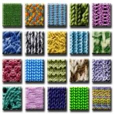 毛线编织图案ps样式