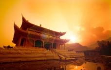 梵净山大金佛寺金殿图片